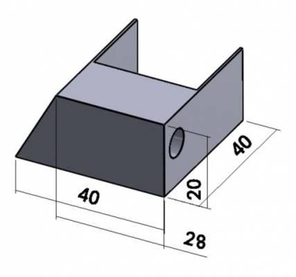 code-7-9-voetje-voor-frame-enkelzijdig